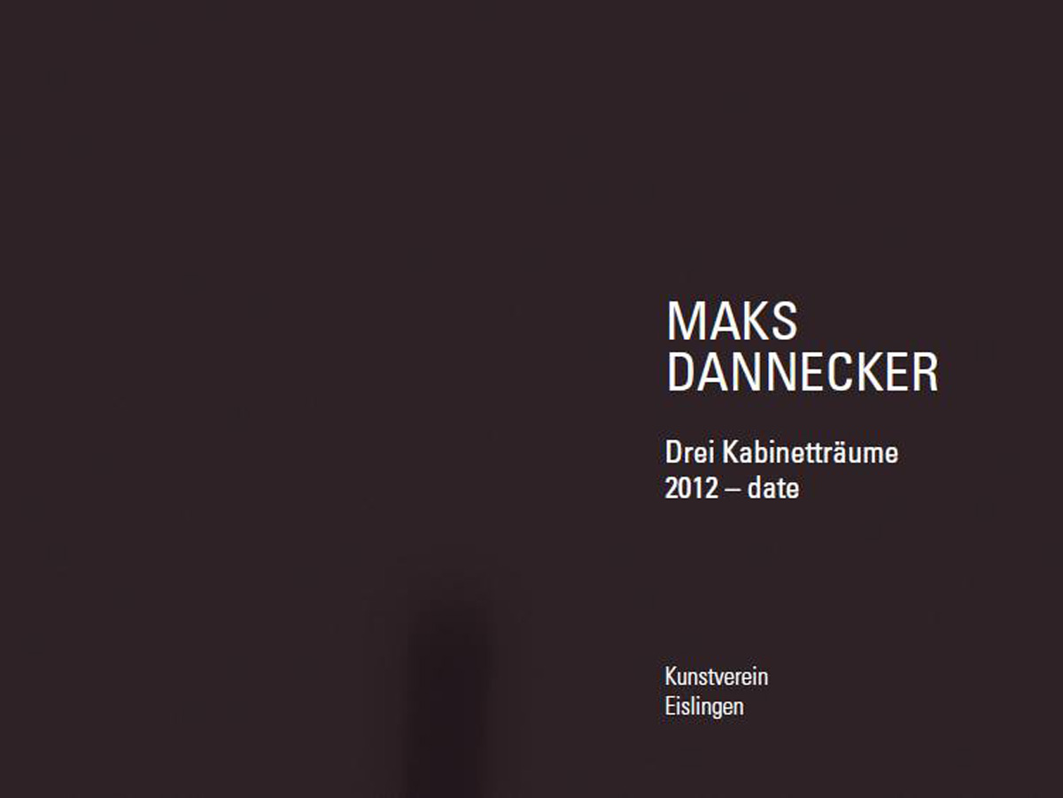 Publikation: Drei Kabinetträume | 2012-date